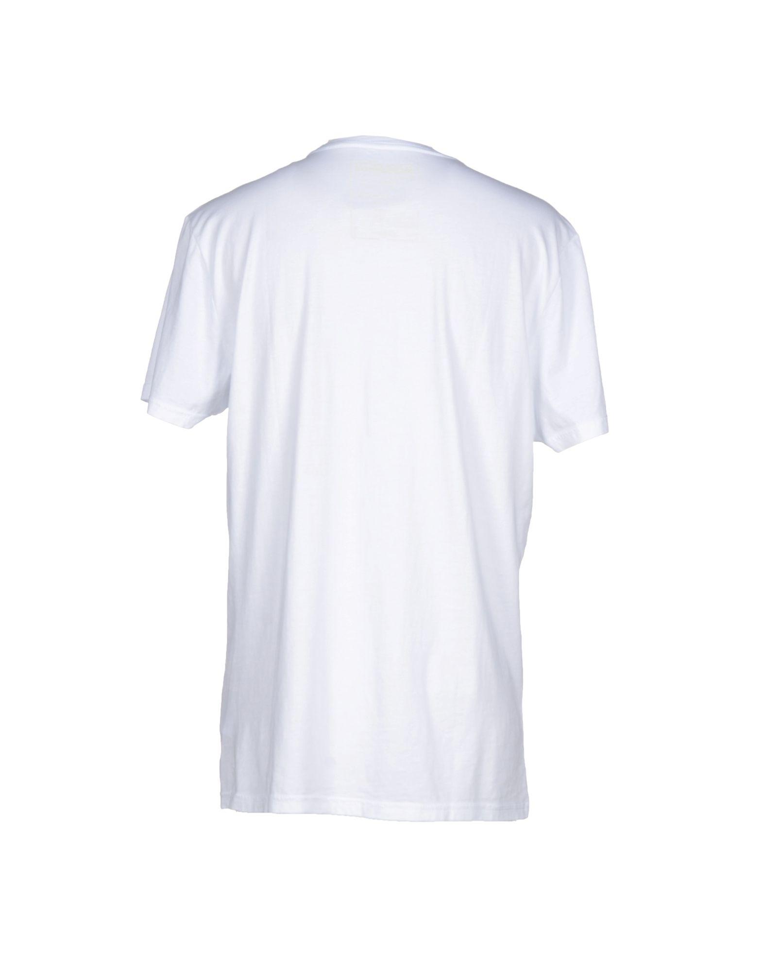 lyst napapijri t shirt in white for men. Black Bedroom Furniture Sets. Home Design Ideas