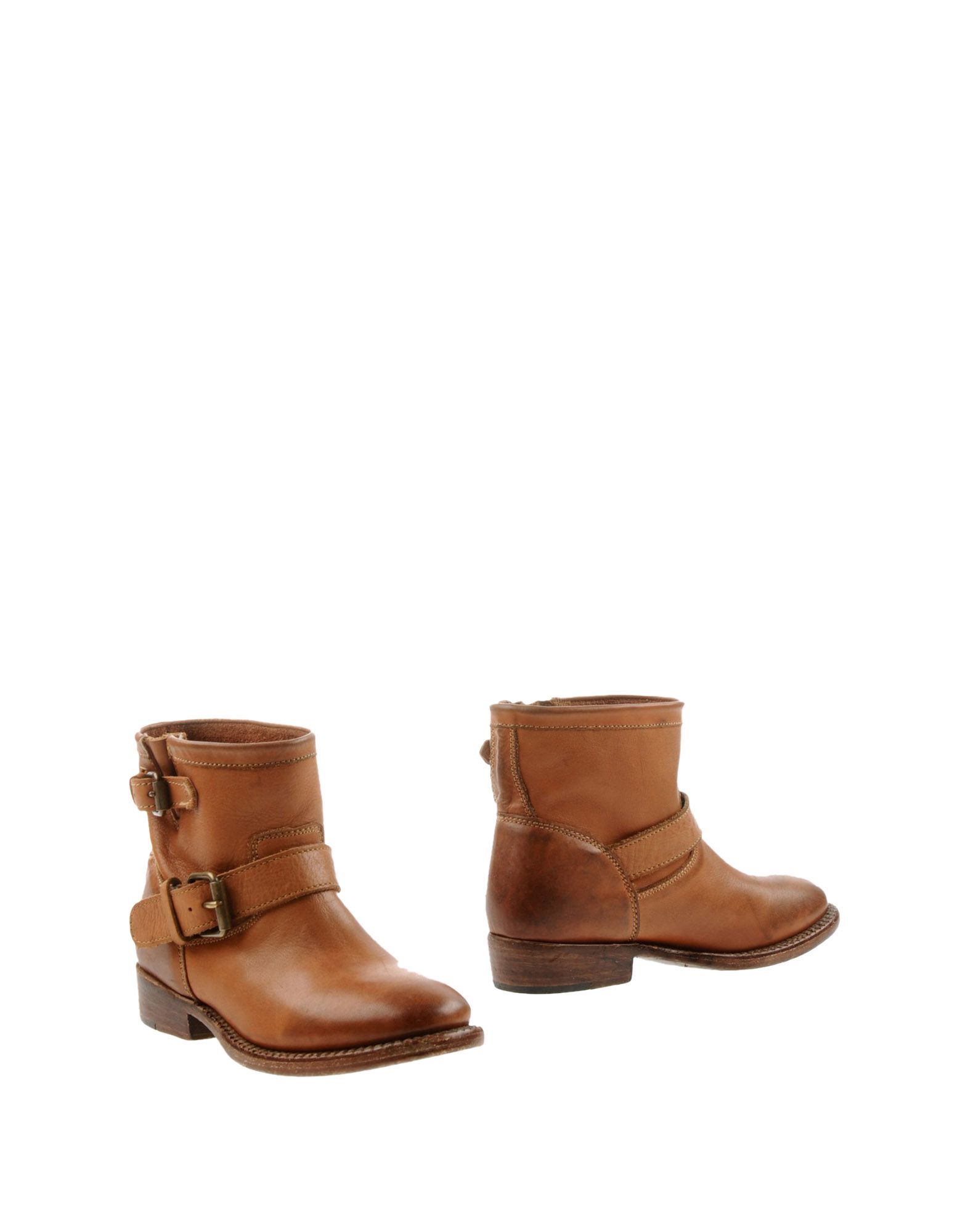 ash ankle boots in brown lyst
