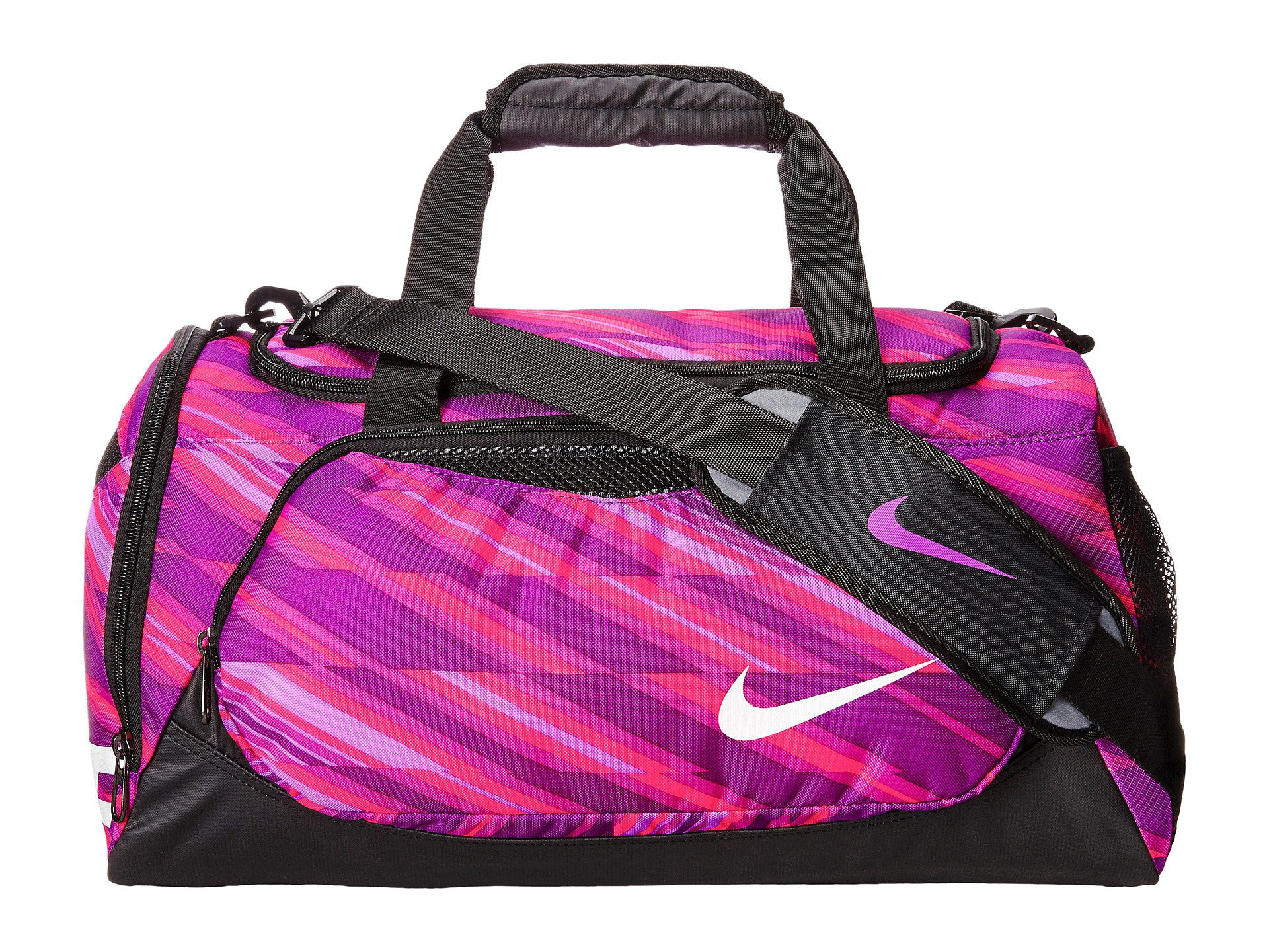Lyst - Nike Young Athletes Team Training Small Duffel in Purple 94f2511de080b