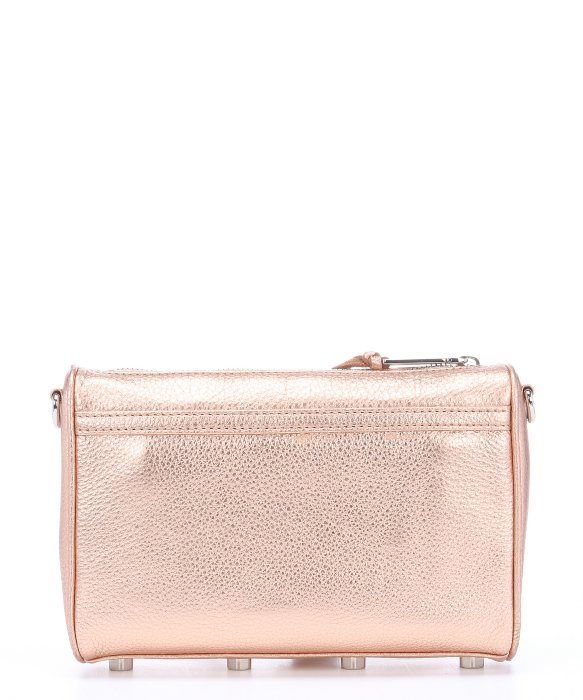 Rebecca minkoff Rose Gold Leather 'Mini Mac' Convertible Shoulder ...