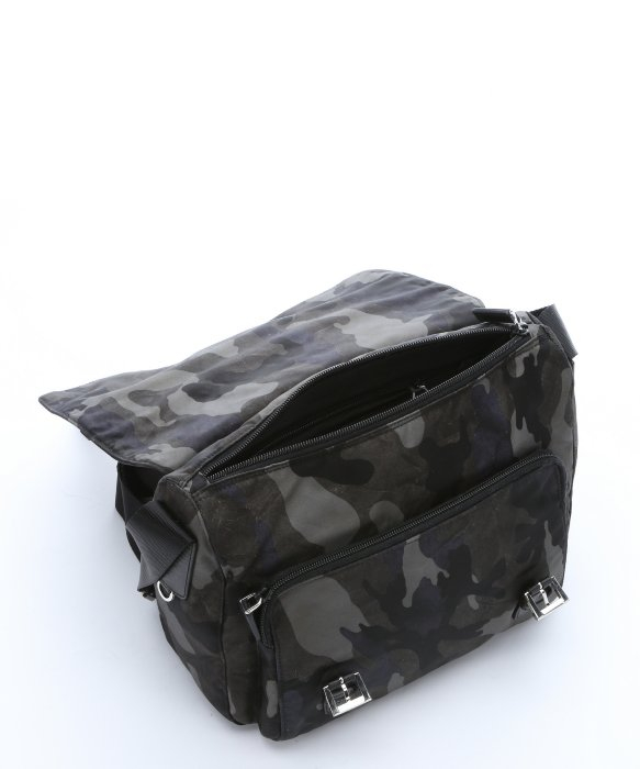 a5b30952310c official prada camouflage messenger bag black 2140e f428e