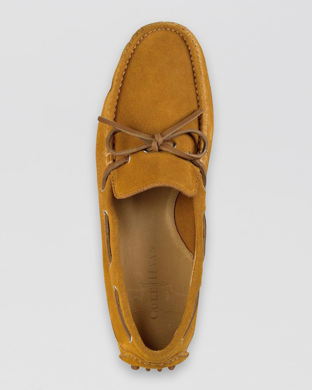 7ffb5a56cd6b9 Cole Haan Grant Canoe Camp Suede Moc Driving Loafers in Brown for ...