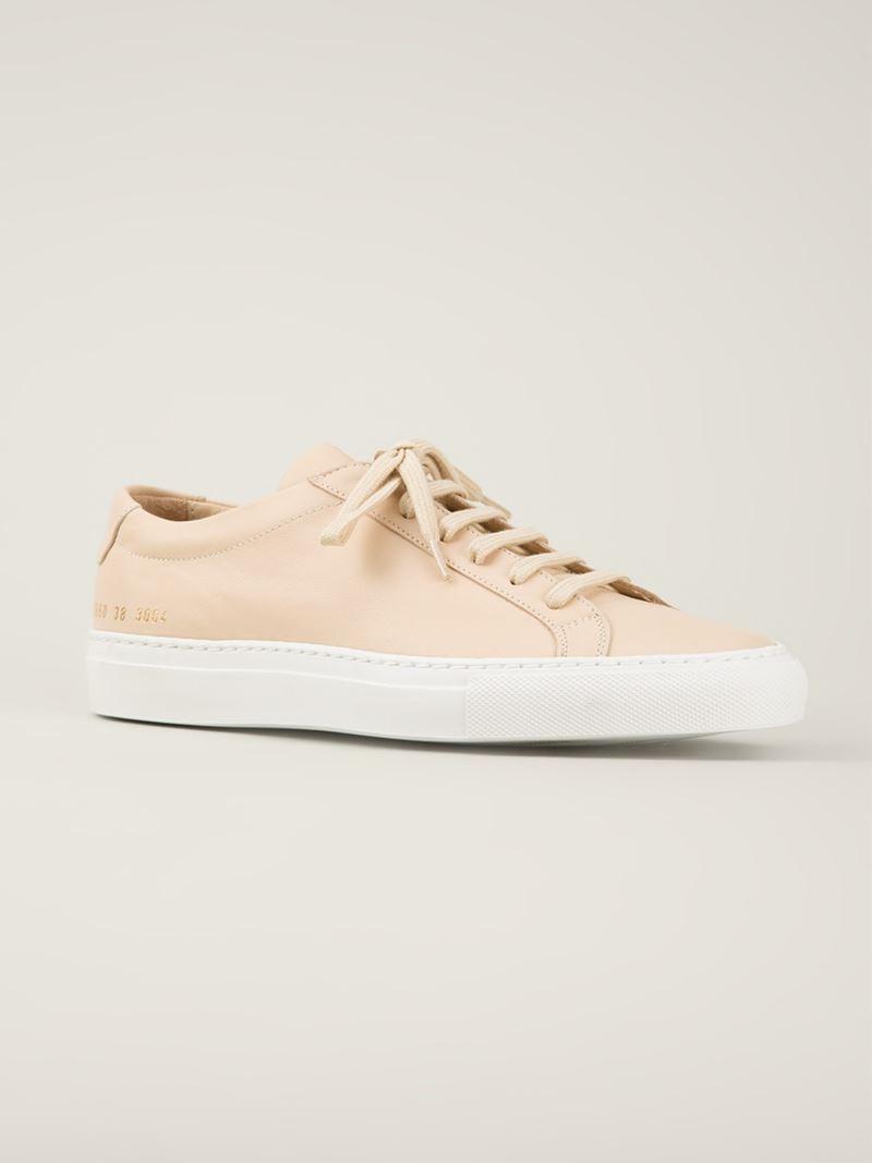 Original Achilles Premium sneakers - Nude & Neutrals Common Projects XegoNVy7xk