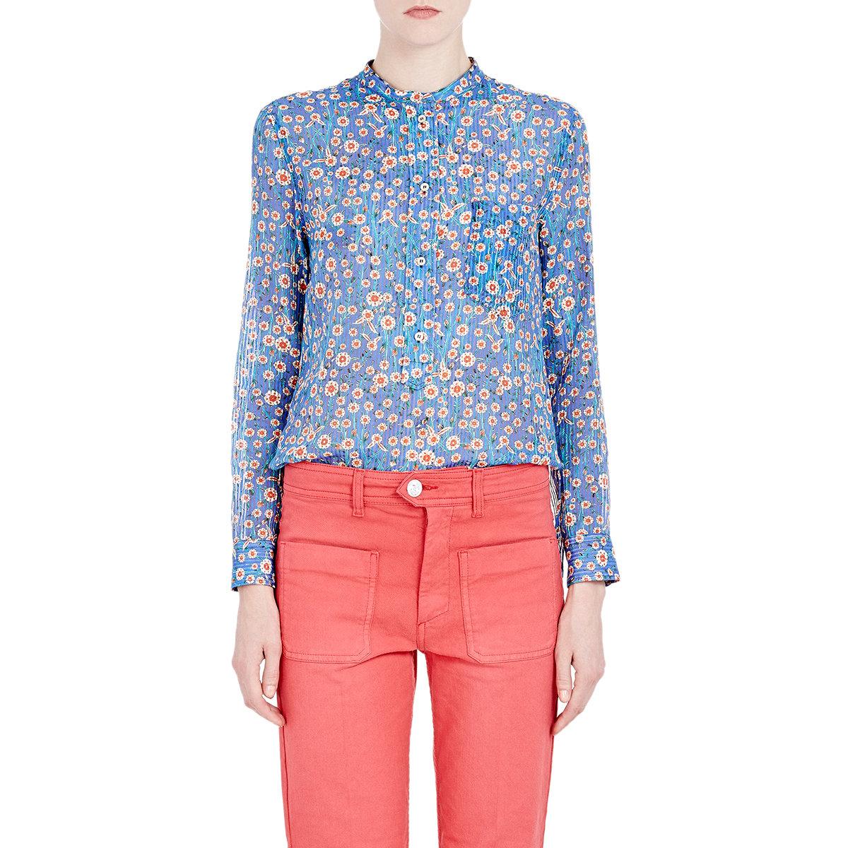 Isabel Marant Etoile Floral Blouse 59