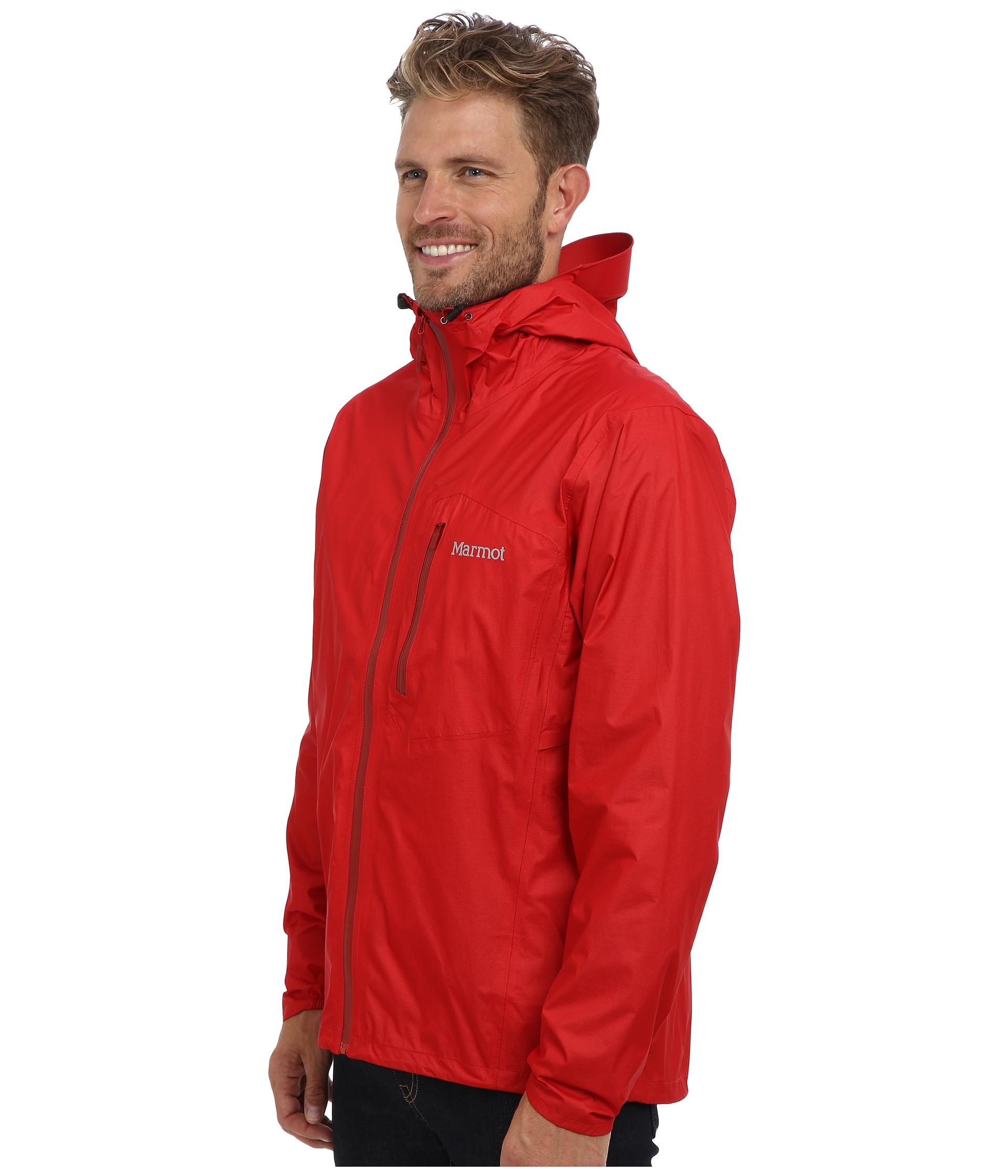 Lyst Marmot Essence Jacket In Red For Men