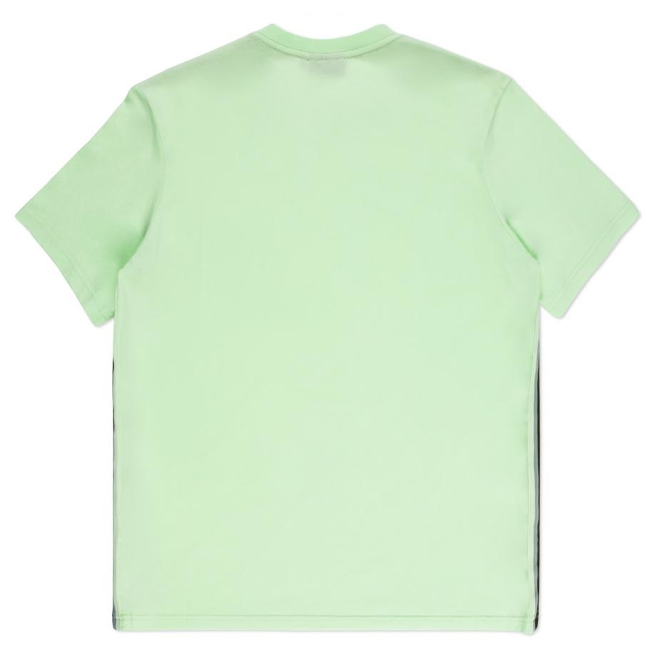 Paul Smith Men 39 S Neon Green Taped Seam T Shirt In Green