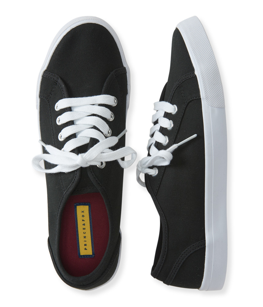 a 233 ropostale prince fox solid low top tennis shoe in