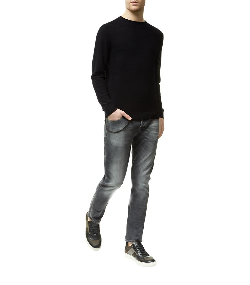 for all mankind chad slim jeans in gray for men lyst. Black Bedroom Furniture Sets. Home Design Ideas