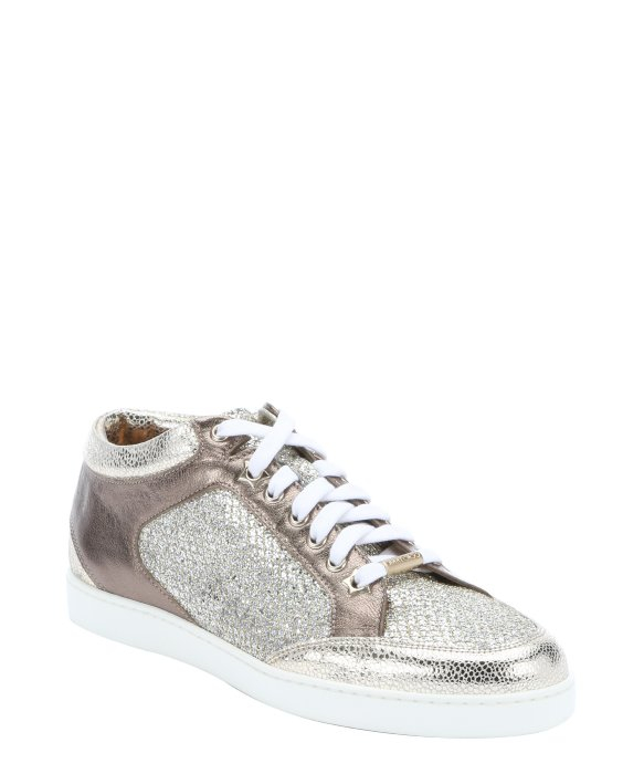 Jimmy choo Sneakers Miami suede fabric