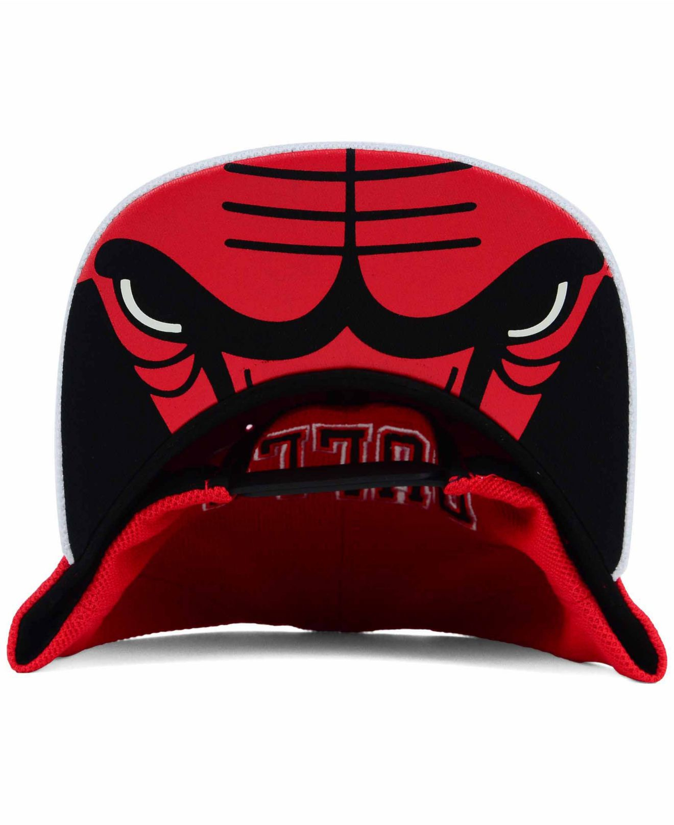 Lyst - adidas Chicago Bulls 2015 Nba Draft Snapback Cap in Red for Men a66a577ddcc