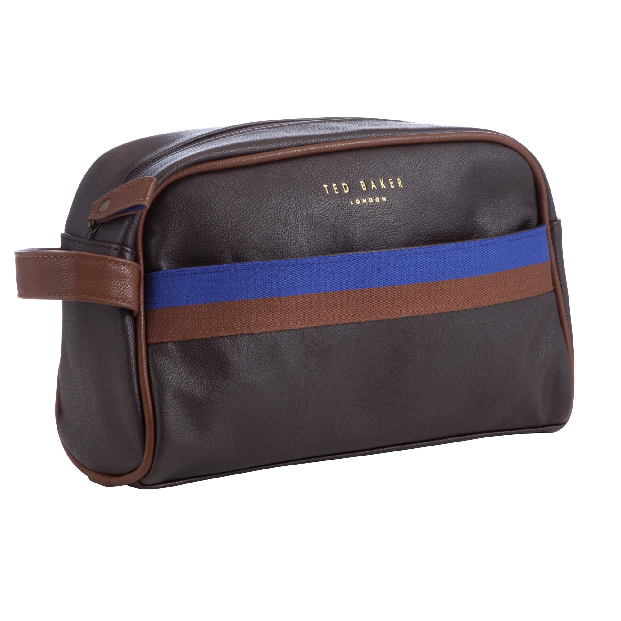 Ted Baker Cleanit Core Webbing Wash Bag in Brown for Men - Lyst c6445787461e2