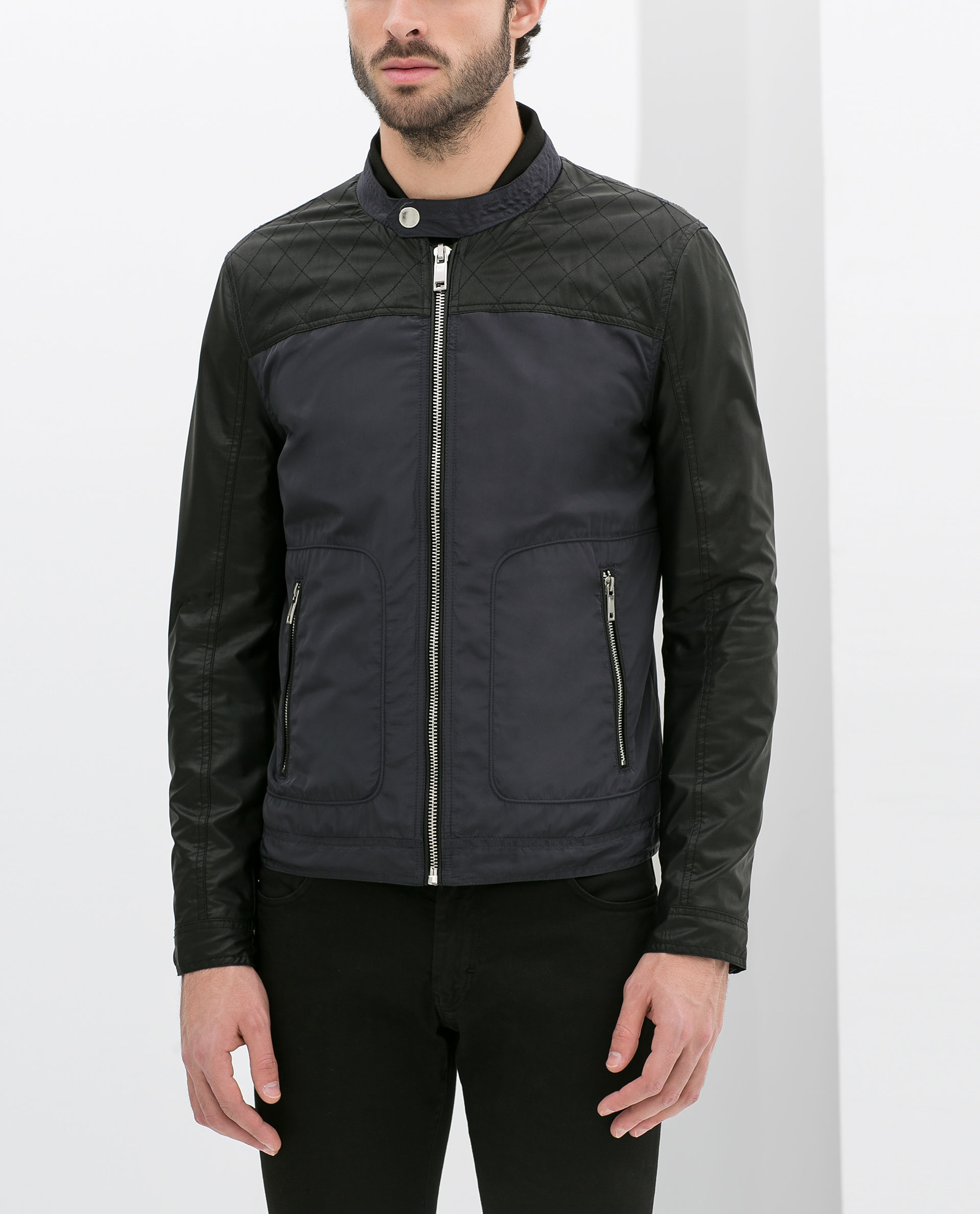 Zara Uk Mens Leather Jackets - Cairoamani.com