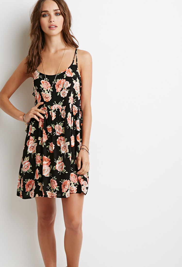 Floral Tunic Dress Forever 21