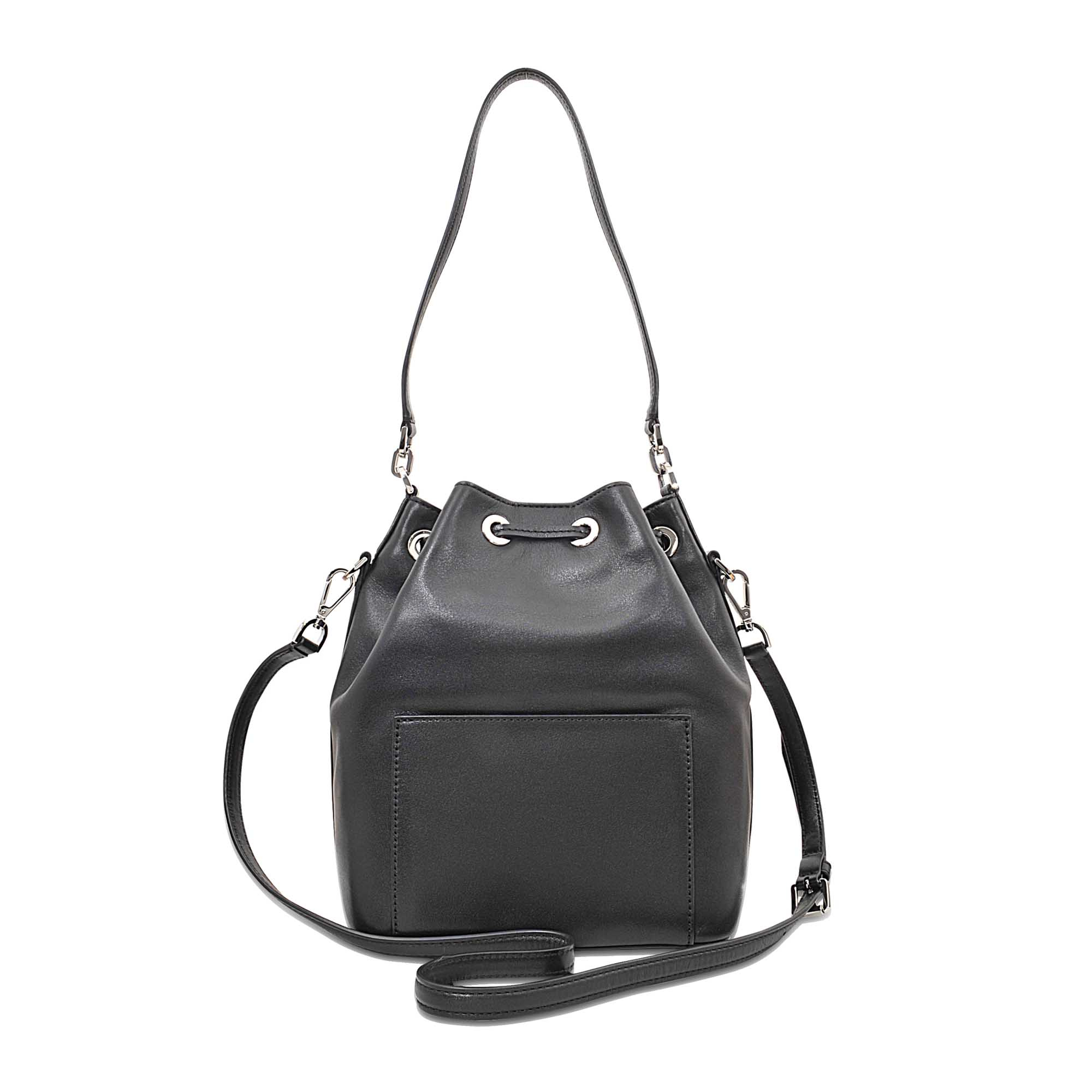 ffc1b35acc53 ... drawstring backpack leather bookbag bag 39ea9 fc5c2 best price lyst michael  michael kors dottie lg bucket bag in black e3a0b 384cd ...