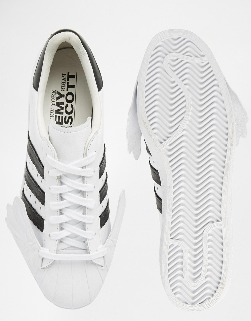 Lyst - Jeremy Scott for adidas Originals By Jeremy Scott Superstar ... a847677d04