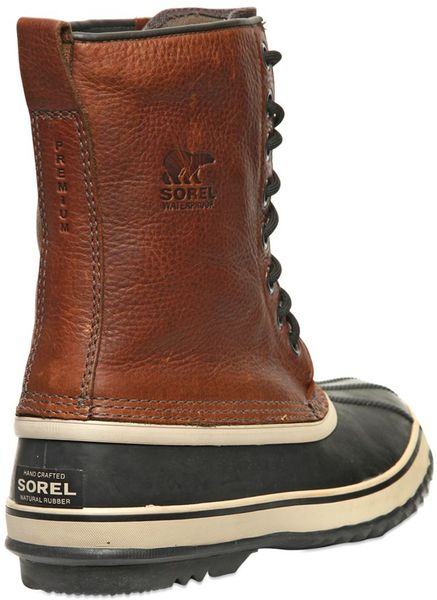 sorel quot 1964 premium t quot leather boots in brown for