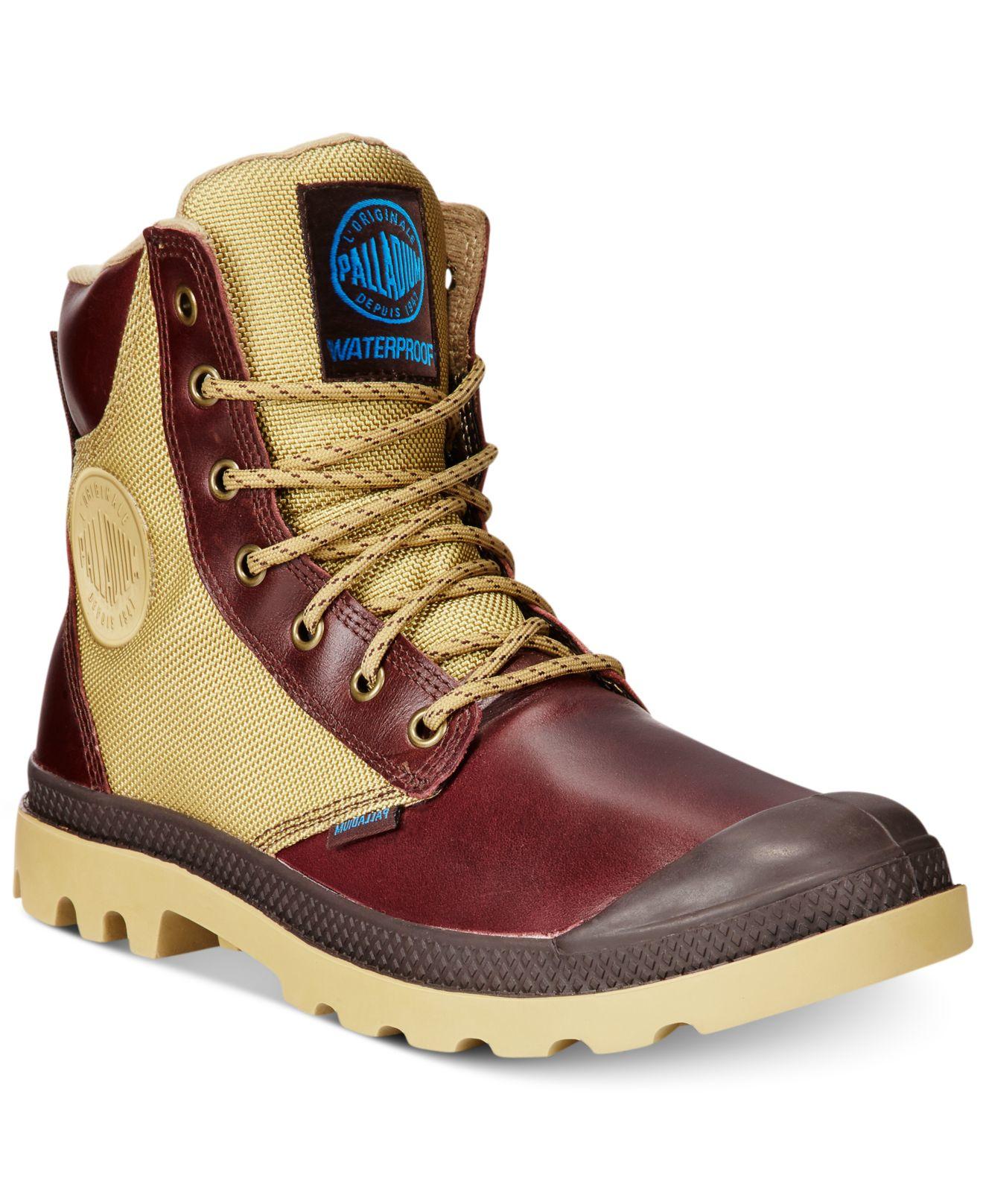 Lyst Palladium Pampa Sport Cuff Waterproof Boots In