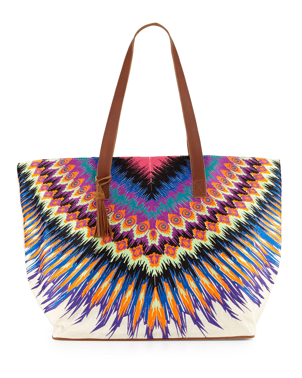 Pilyq Printed Beach Tote Bag | Lyst
