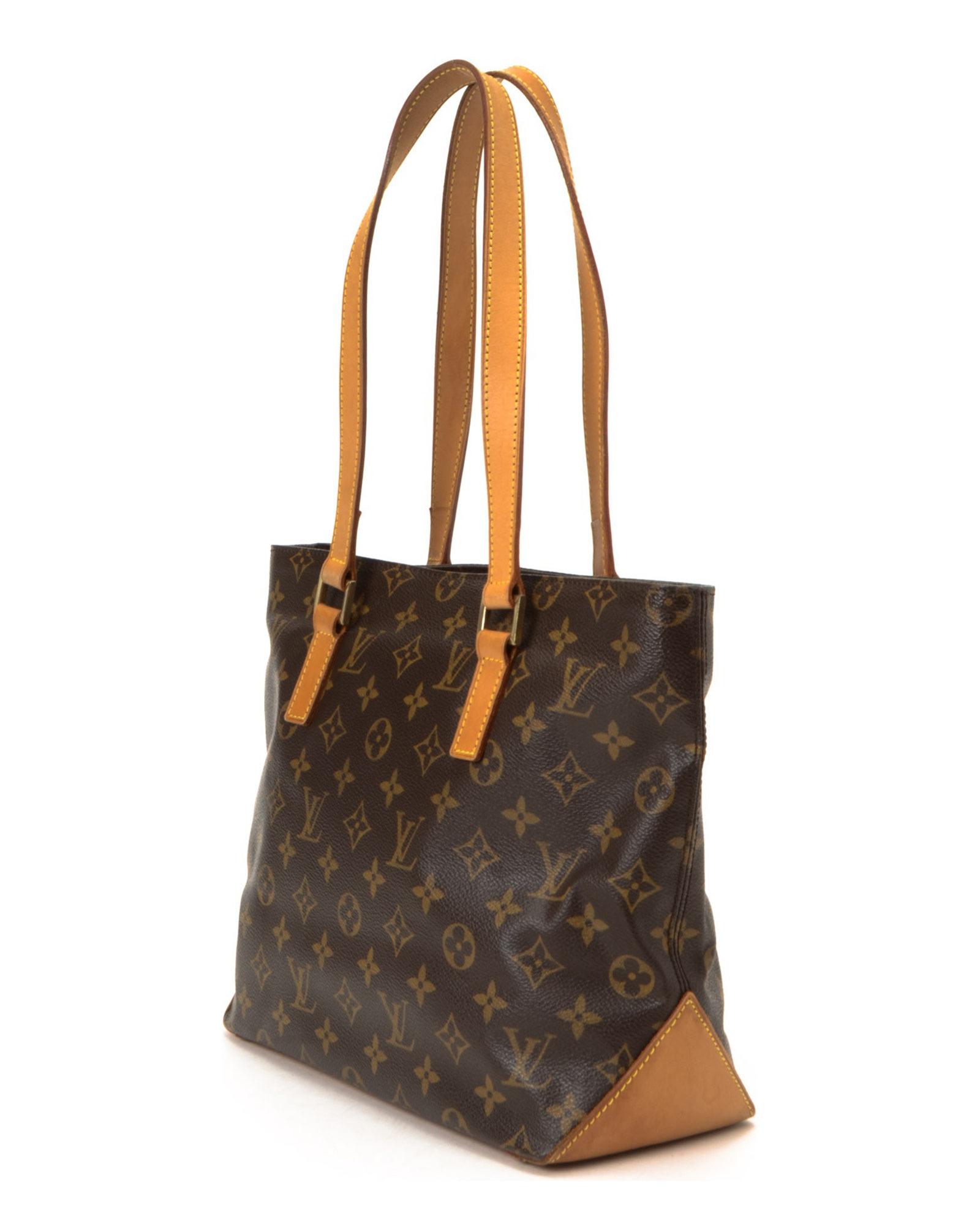 Louis vuitton tote bag vintage in brown lyst for Louis vuitton miroir bags
