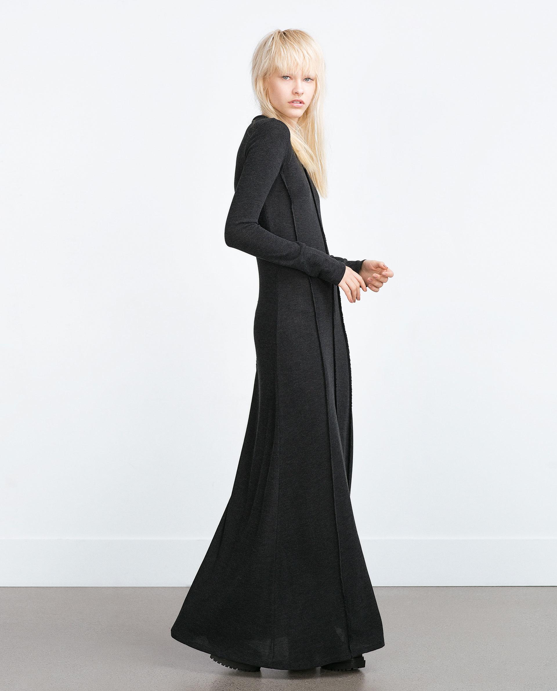 Zara Long Sleeve Evening Dresses
