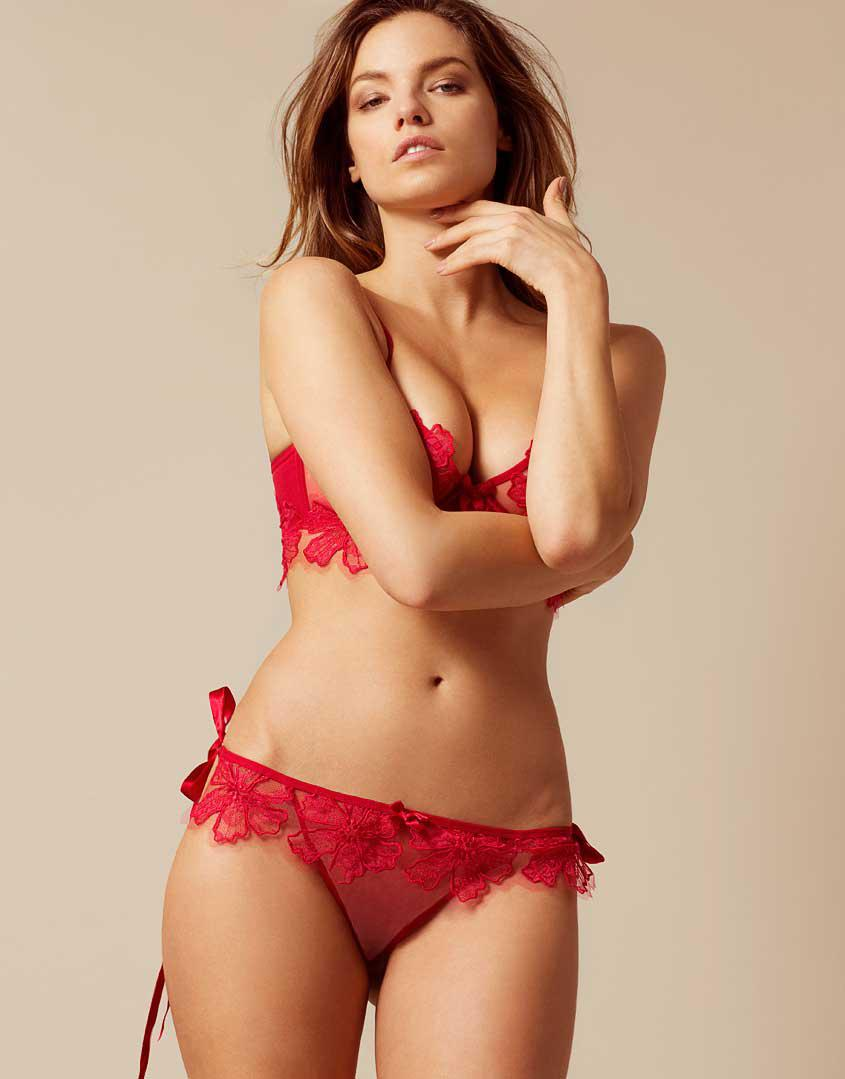Lyst - Agent Provocateur Seraphina Tie Side Red in Red 749964401