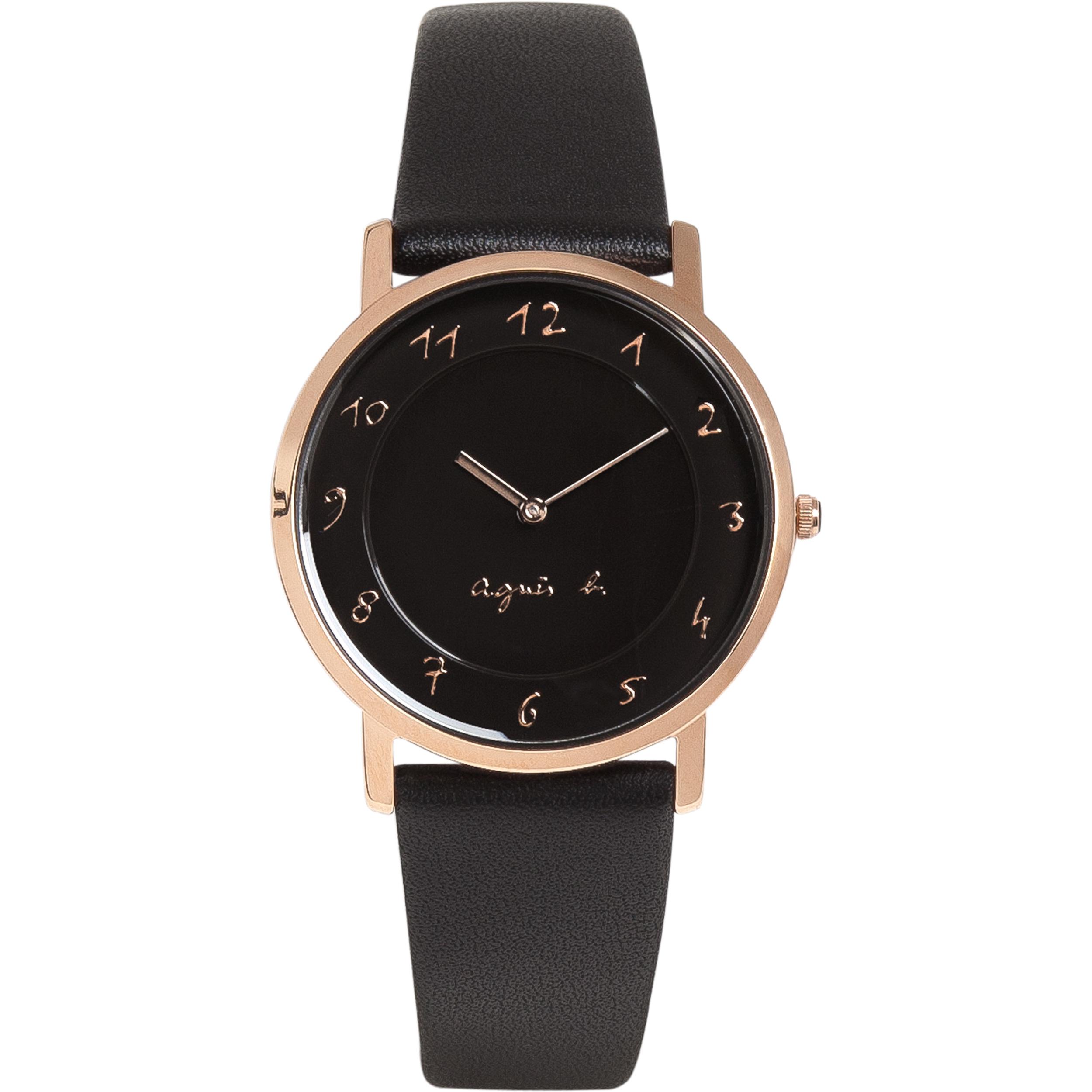 Agnu00e8s b. Womenu0026#39;s Watch in Black : Lyst