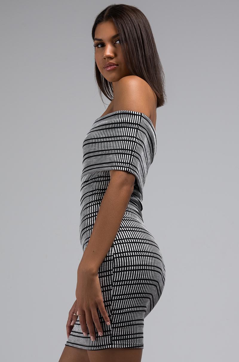 6587f1fadf73 AKIRA Wont Keep Us Apart Strapless Bodycon Mini Dress in Black - Lyst