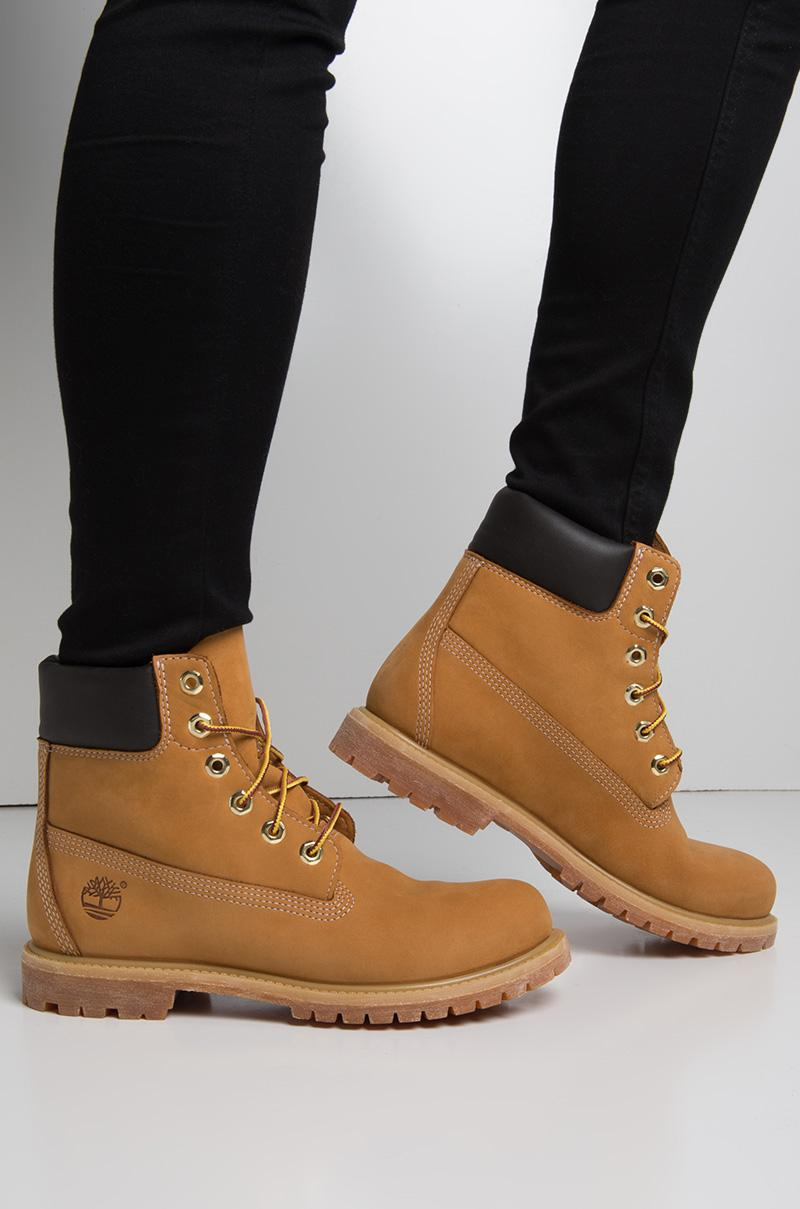 Timberland Women s 6-inch Premium Waterproof Boot - Wheat Nubuck - Lyst a204559d2005