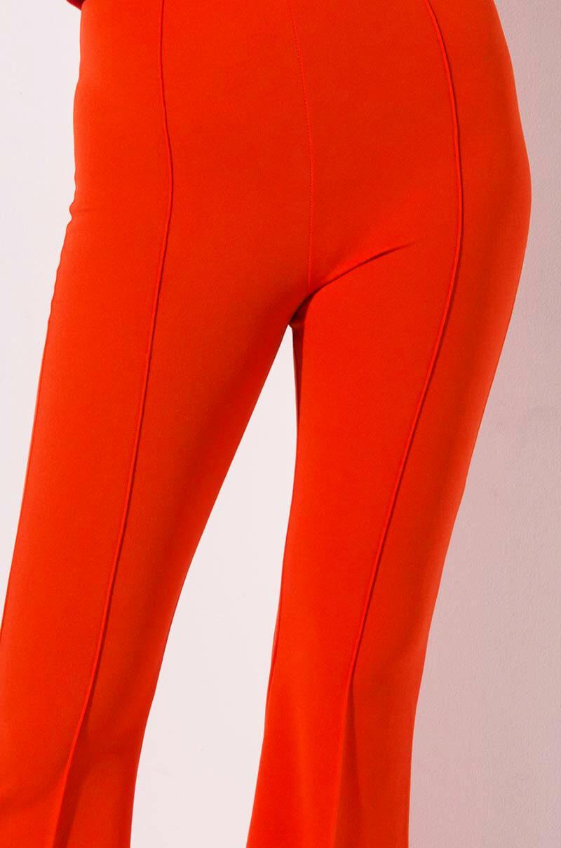 d6a1c574e7a AKIRA Sol High Rise Bell Pants in Orange - Lyst