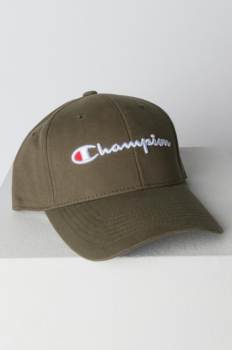 d2c1416357b38 Champion Classic Twill Hat in Green for Men - Lyst
