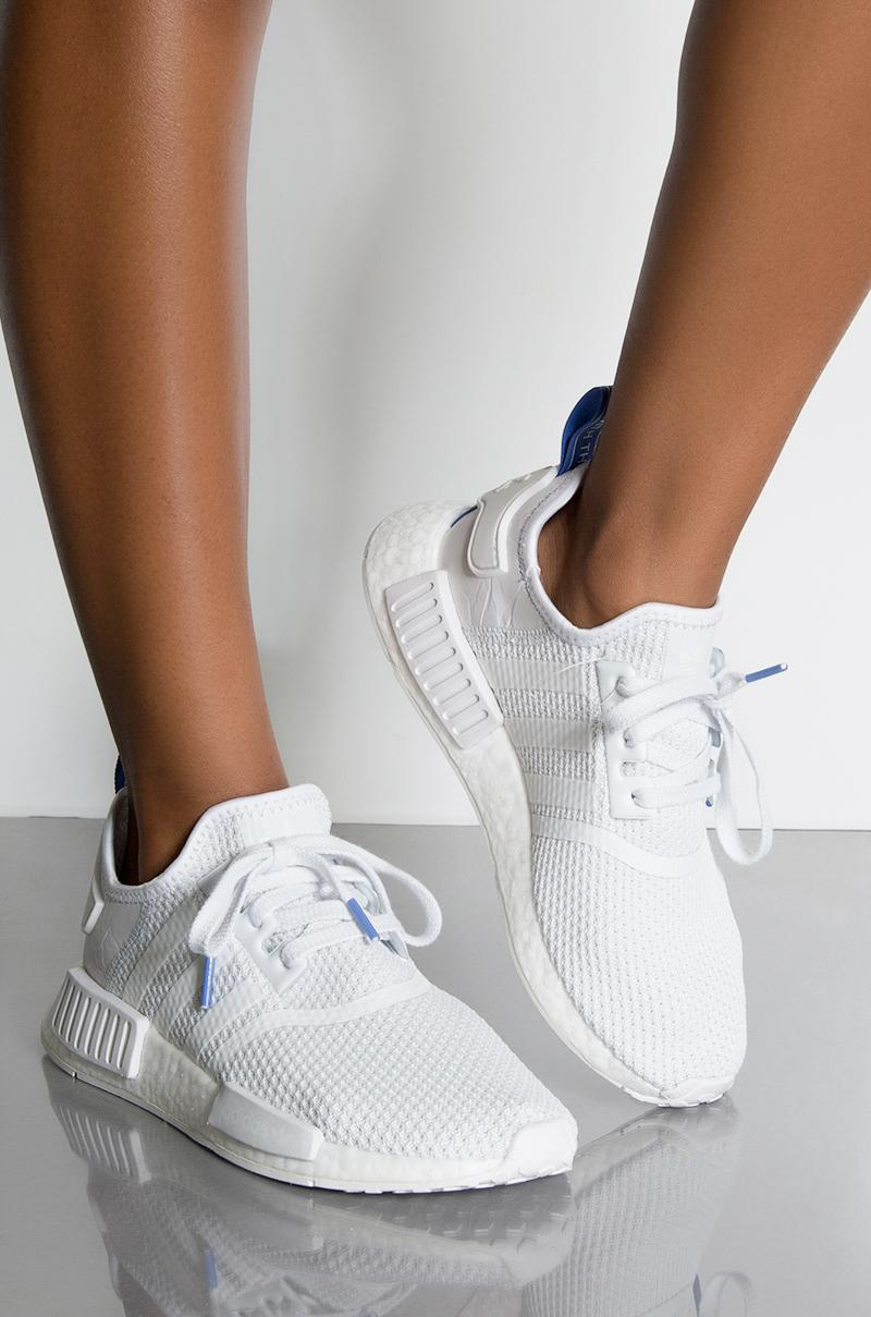 2ca0523d4 adidas Womens Nmd R1 W in White - Lyst