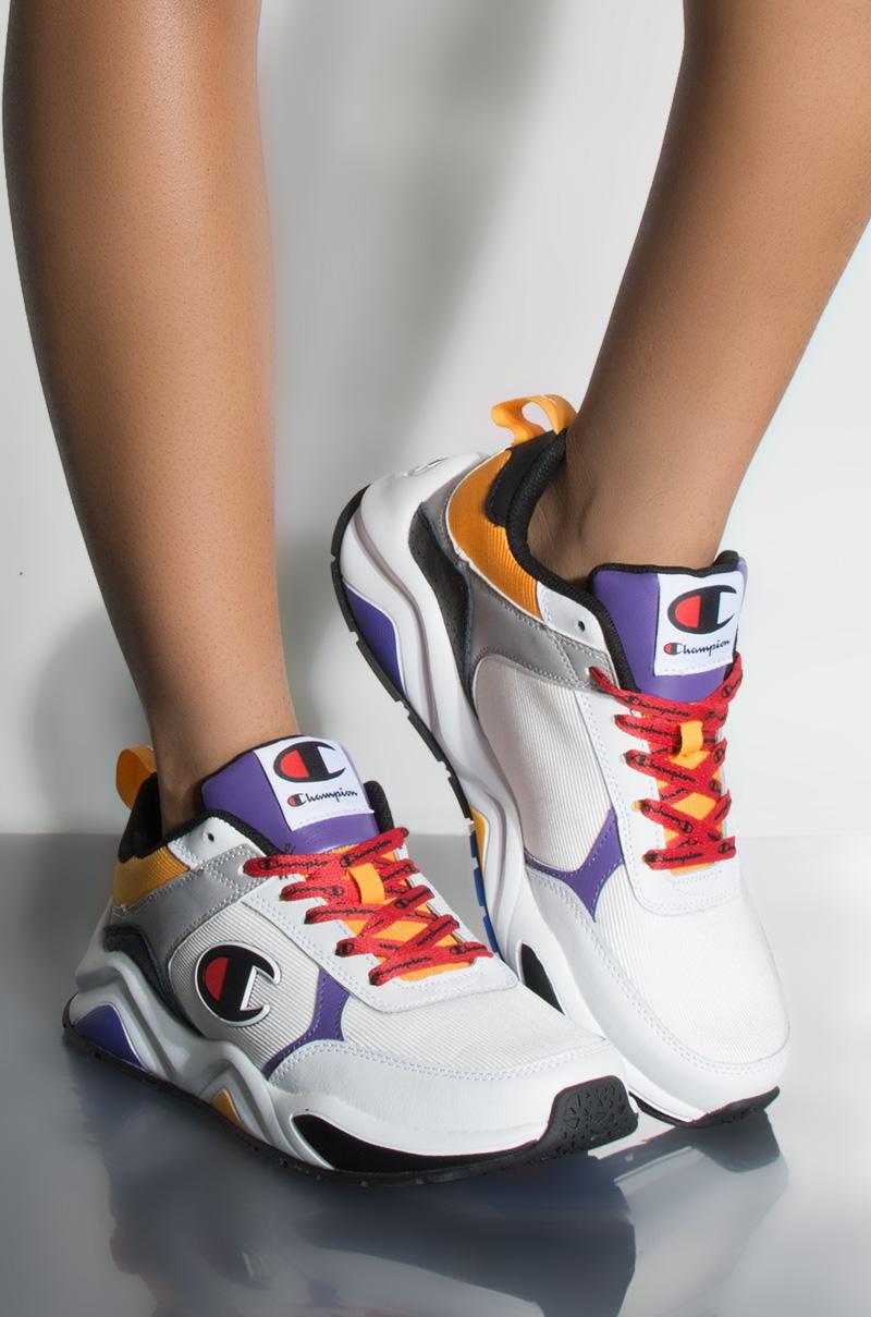 6494255b42a69 Lyst - Champion 93 Eighteen Block Sneaker In White Multi in White ...
