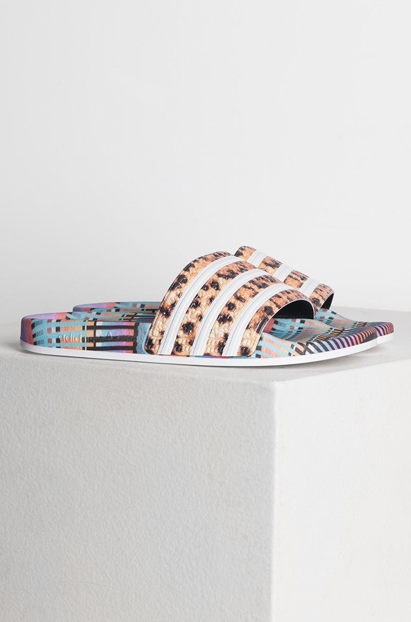 new arrival da193 865fb Adidas - Multicolor Womens Adilette Slides - Lyst. View fullscreen