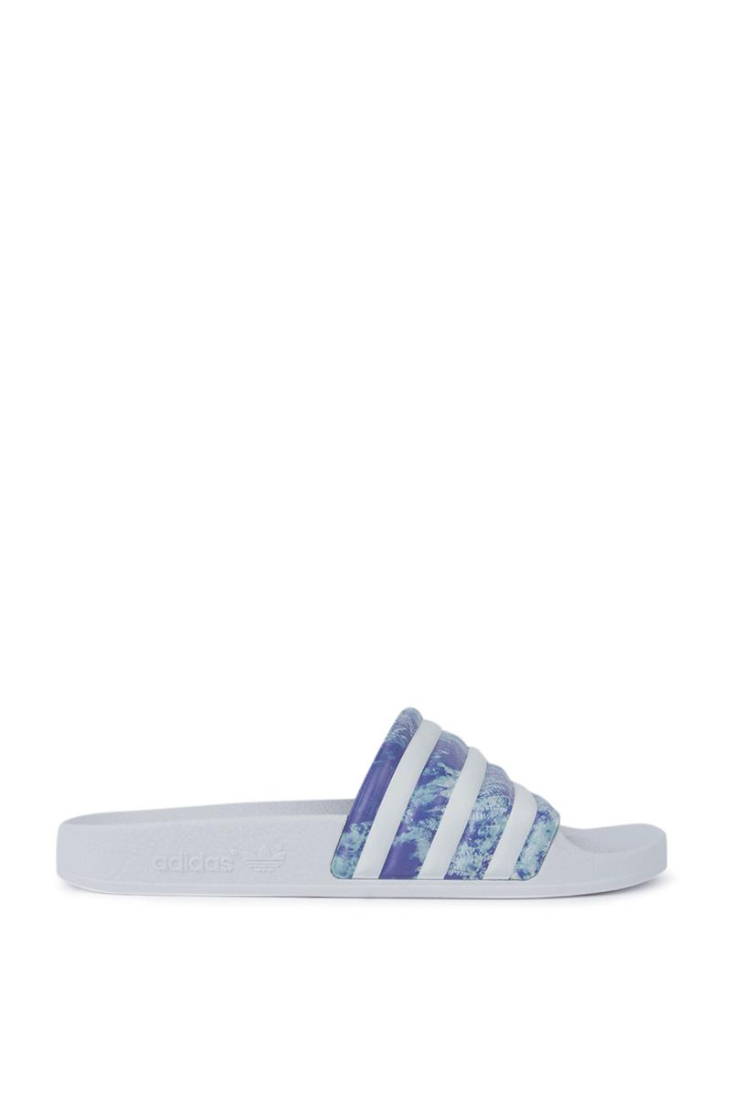 d09e63e7b Lyst - adidas Womens Adilette W in White