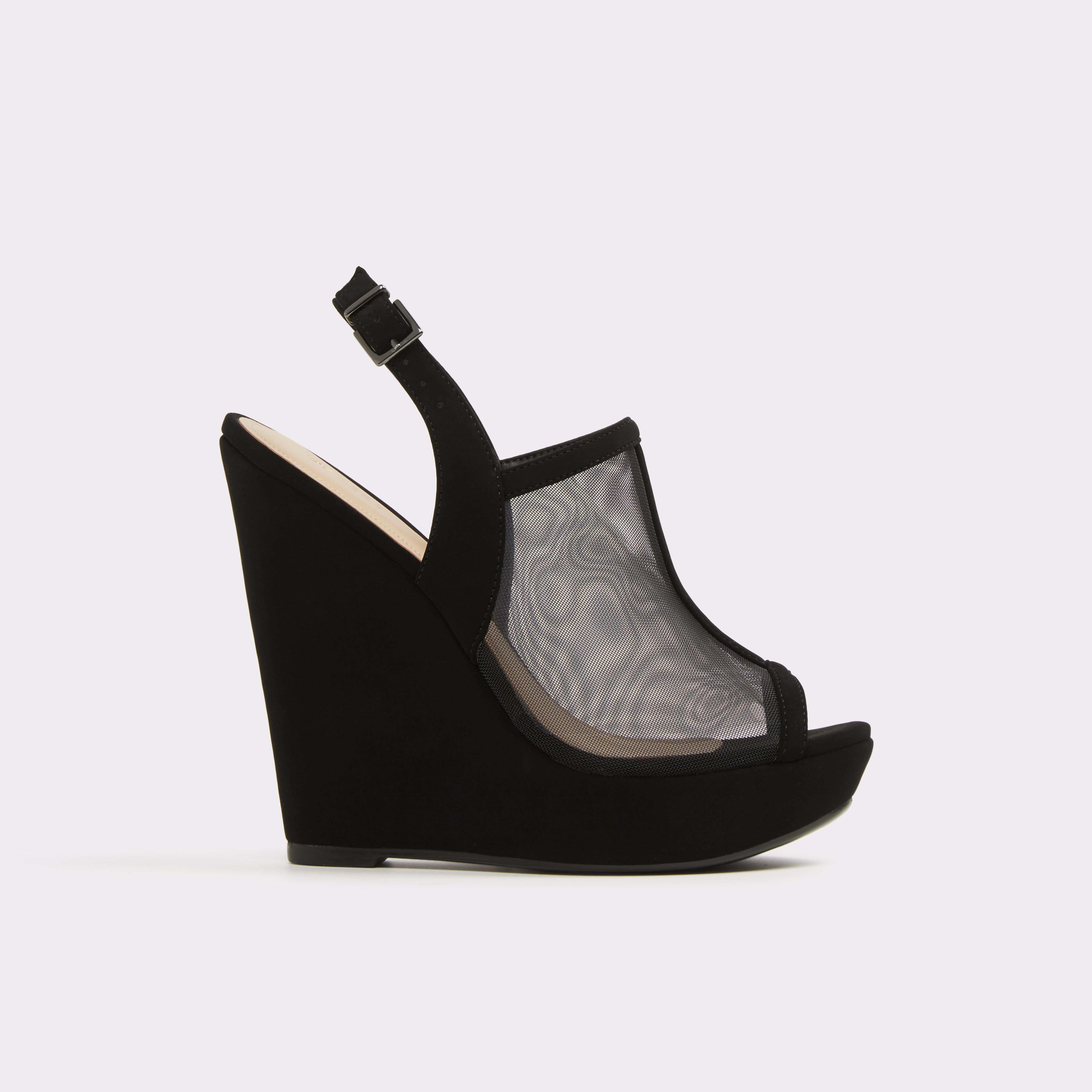 ALDO Alianor Wedges Womens Footwear Black Online exclusive sale