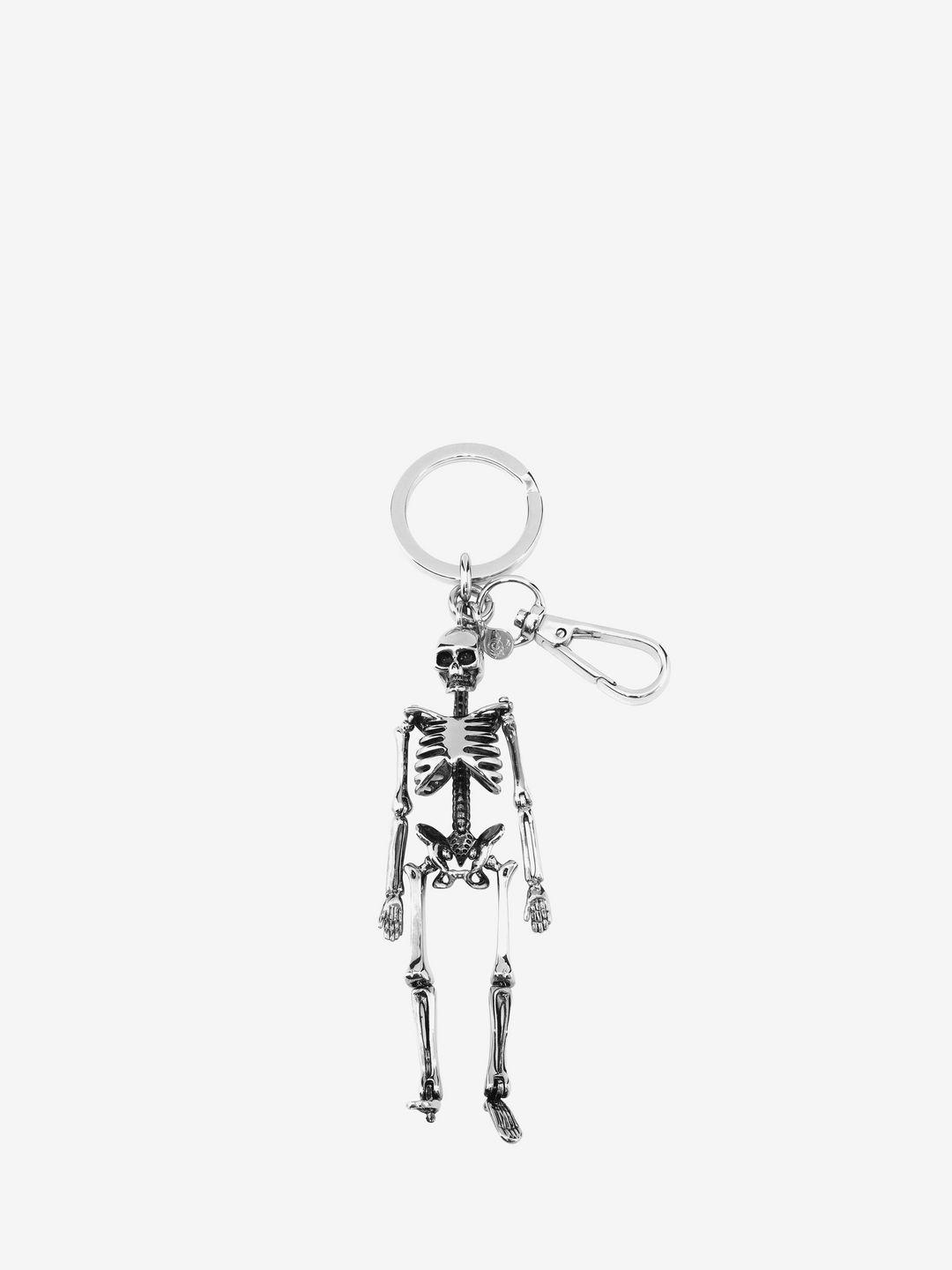 skeleton keyring - Metallic Alexander McQueen Reliable For Sale Cheap Sneakernews 2018 Cheap Online Sale Cheap Price z3IREu