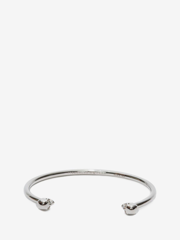 twin skull bracelet - Metallic Alexander McQueen wA8eoaKG