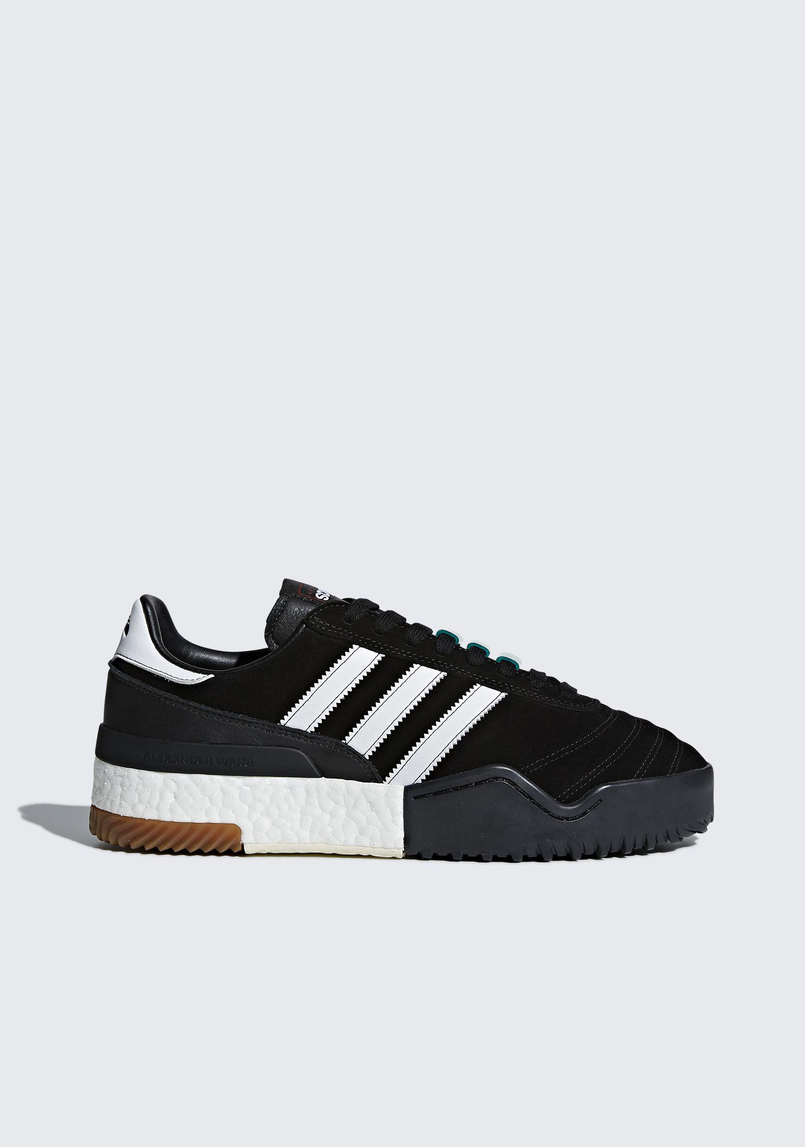 watch adebd 79fc7 alexander-wang-Black-Adidas-Originals-By-Aw-Bball-Soccer-Shoes.jpeg