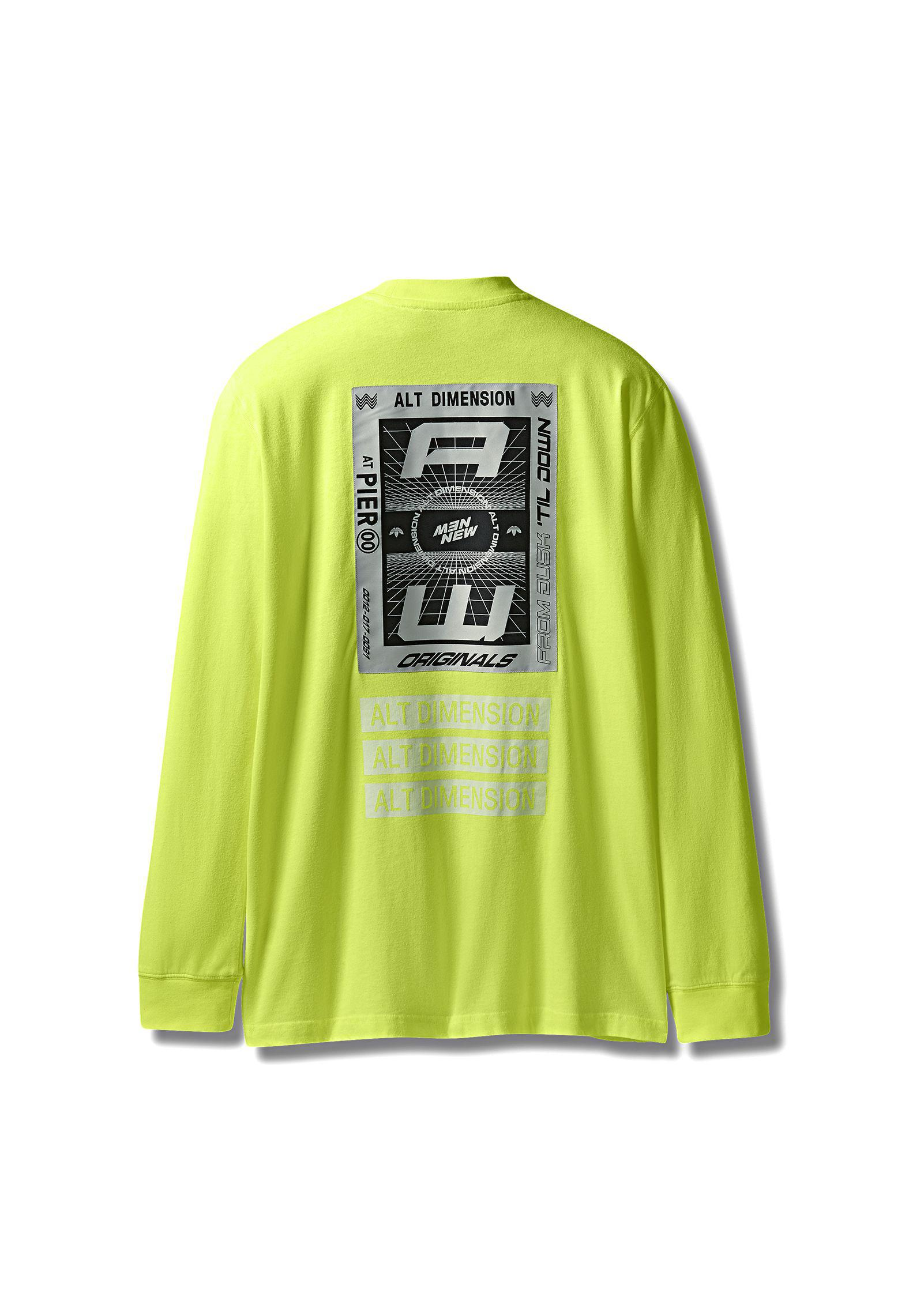 ecdb75b653b6 Alexander Wang Adidas Originals By Aw Bleach Long Sleeve Shirt in ...