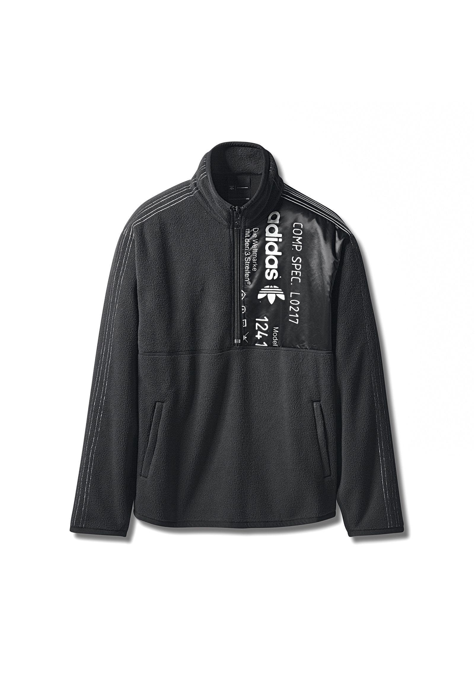 Lyst Alexander Oh Wang Adidas Originali Da Oh Alexander Felpe Meta 'Zip Top In b3ce3b