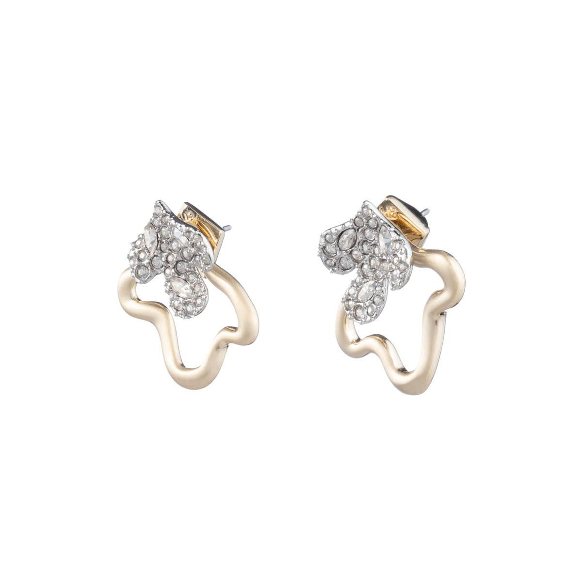 Alexis Bittar Crystal Encrusted Post Earring With Freeform Jacket t8W1m