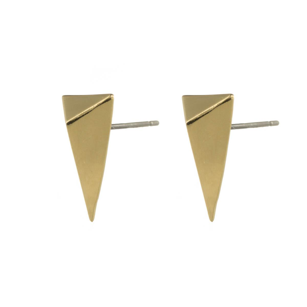 Alexis Bittar Gold Pyramid Post Earring 88dUcozH