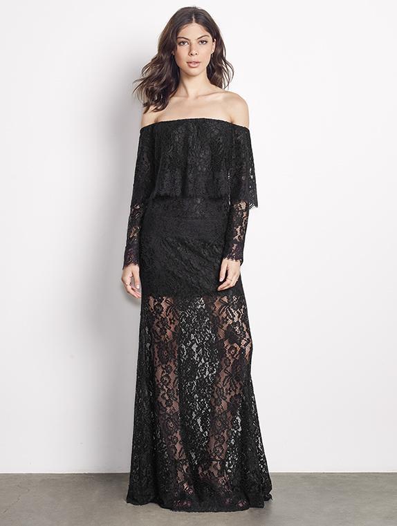 9dc656e74e48 Lyst - Ali   Jay Soiree Gown in Black