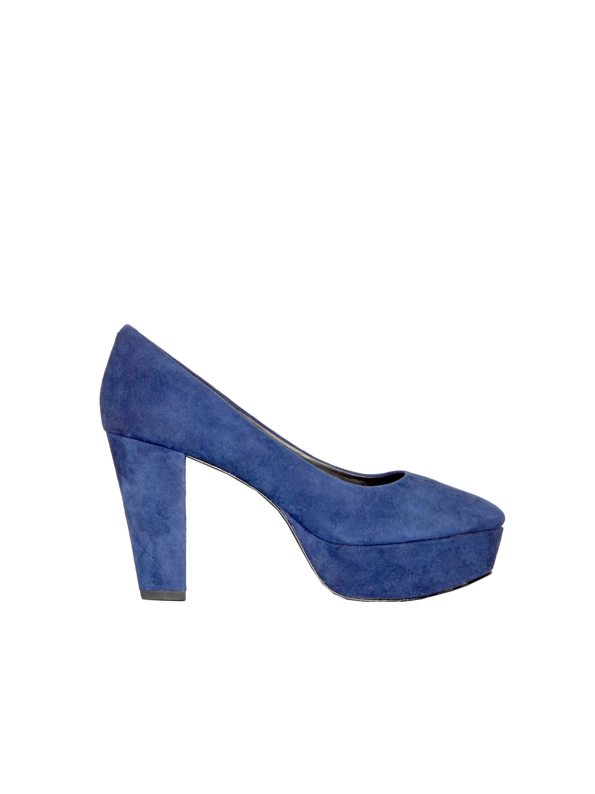 6ef992970e0 Lyst - Alice + Olivia Agnes Suede Heel in Blue