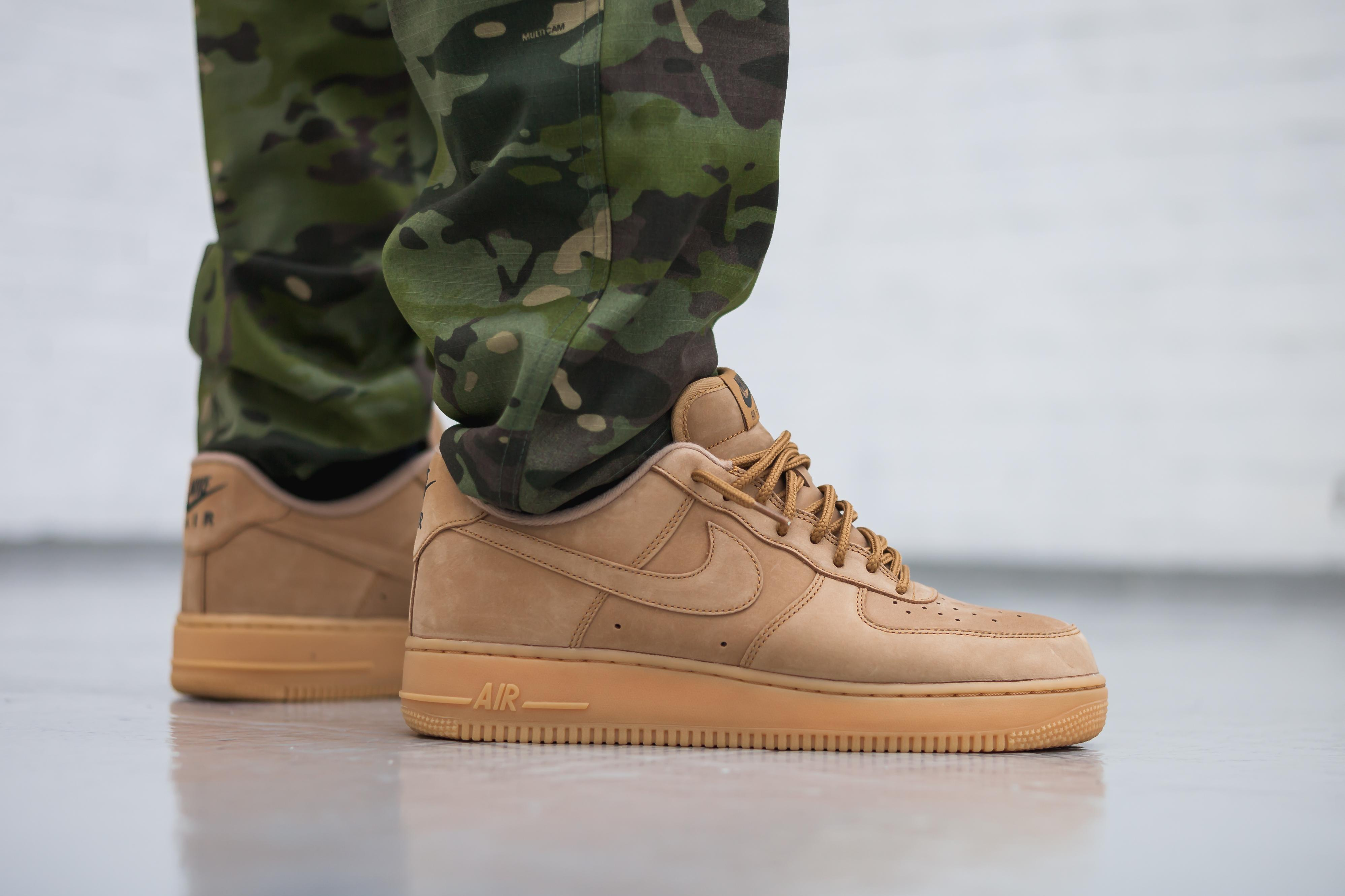 0e768814f3af2 Lyst - Nike Air Force 1  07 Wb - Flax in Brown for Men