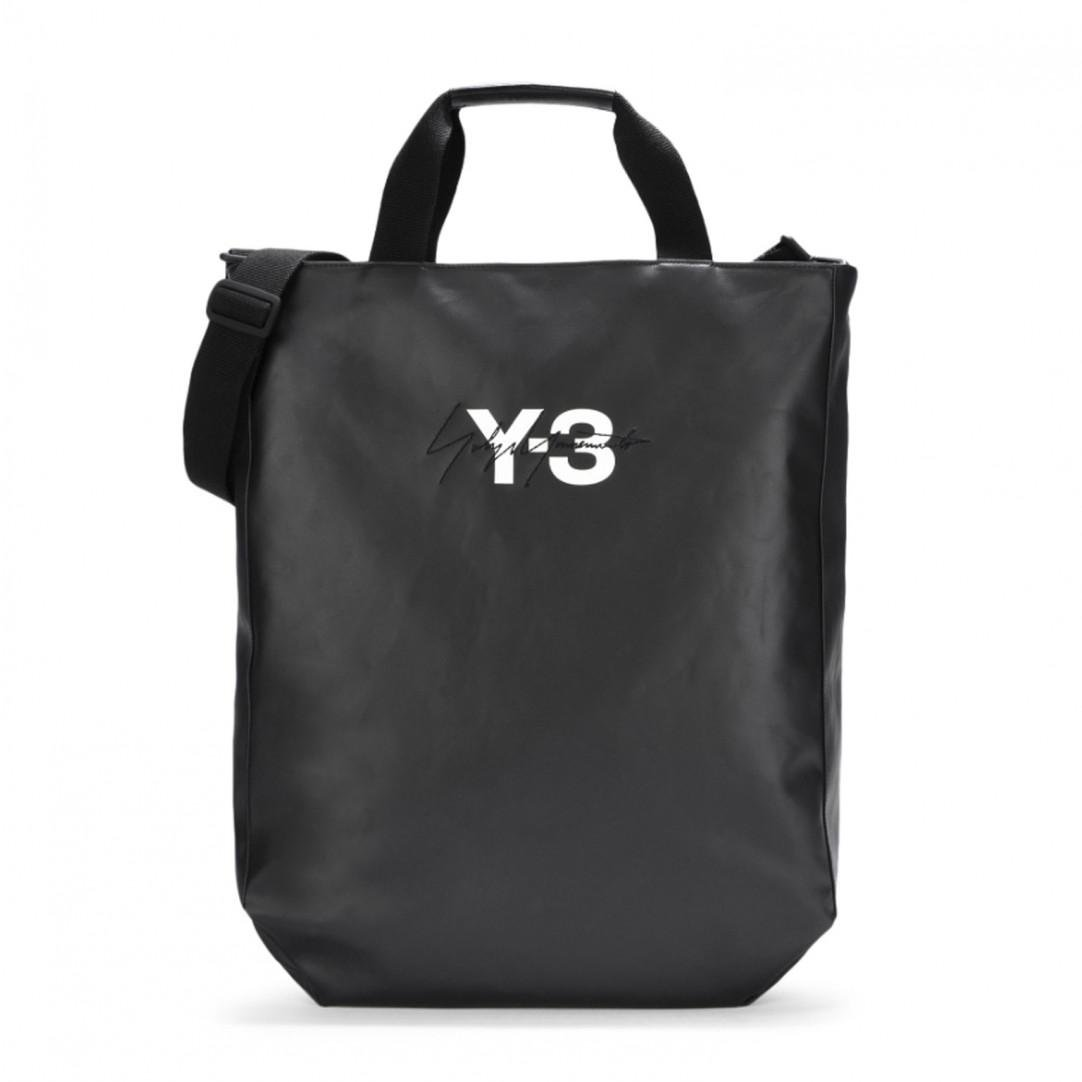 Lyst - Y-3 Logo Tote Bag in Black for Men - Save 57% f543a7dae1