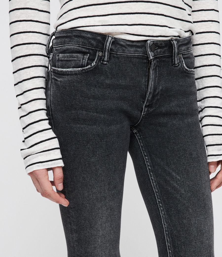 1e7e697a14 AllSaints - Black Mast Ankle Ty Jeans - Lyst. View fullscreen