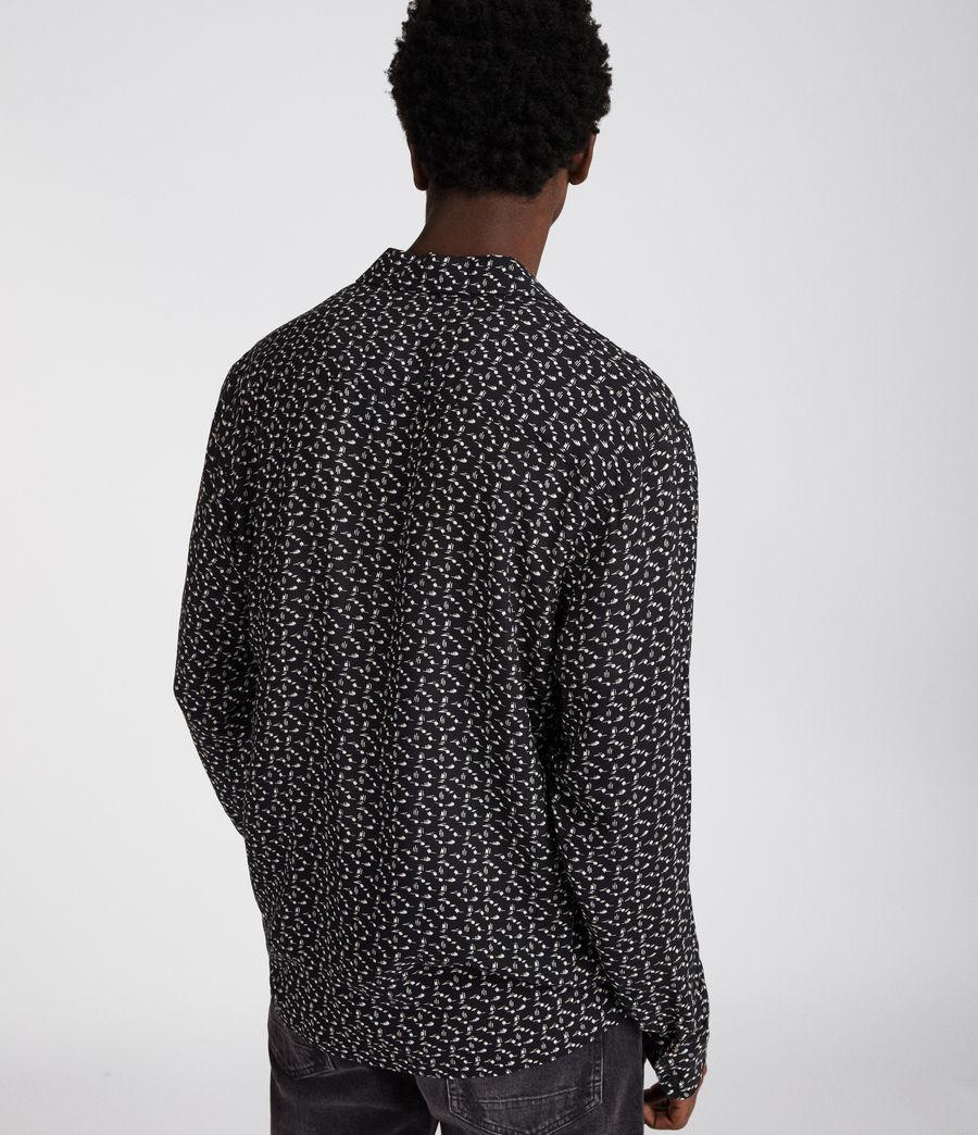 07df9527 AllSaints Notes Long Sleeve Shirt $126 allsaints-notes-long-sleeve-shirt