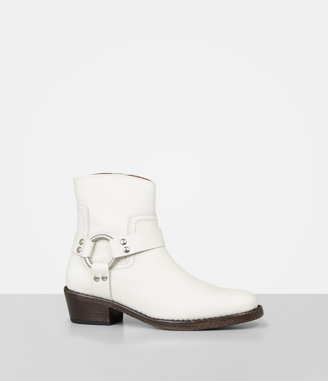 62265ae3bbda77 AllSaints Haze Boot in White - Lyst