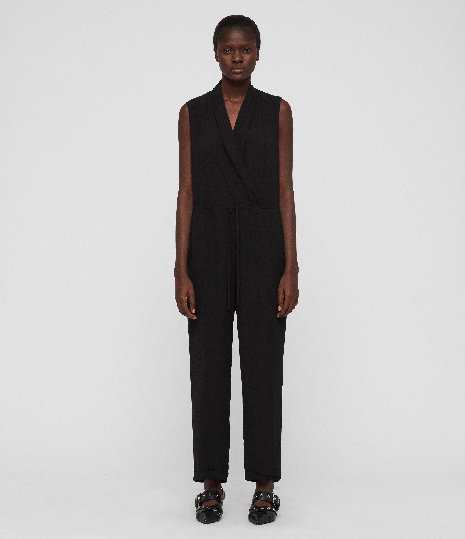 aa4ccea5b3 Lyst - AllSaints Cassie Jumpsuit in Black